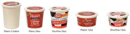 non dairy cottage cheese small curd cottage cheese plains dairyplains dairy