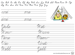 printables beginning cursive worksheets ronleyba worksheets