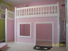 How To Build A Full Size Loft Bed With Stairs by Ana White Build A Full Size Playhouse Loft Bed With Storage