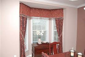 Drapery Designs For Bay Windows Ideas Blinds Bay Window Drapery Ideas Design Creativityl 1b For