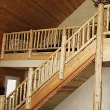 st croix log works llc llc log accents log stairs