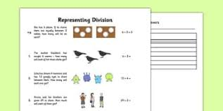 division primary resources ks1 calculation page 2
