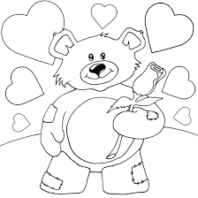 beautiful coloring pages teddy bears 55 remodel free