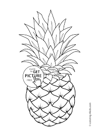 free coloring pages for kids to print fruits coloring pages for kids printable free