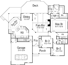 efficient floor plans creative efficient ranch home plan 26637gg architectural