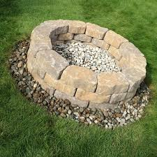 Firepit Blocks Landscape Block Pit Pit Grill Ideas