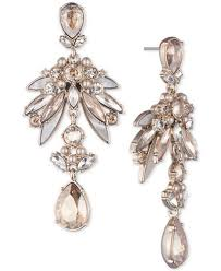 pearl chandelier earrings givenchy gold tone colored imitation pearl chandelier
