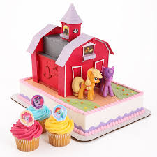 barn cake topper my pony officially licensed cake topper a step
