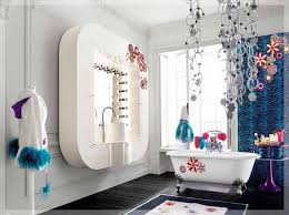 Wall Mounted Bathroom Accessories Girls Bathroom Accessories Large White Rectangular Wall Mounted