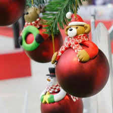 discount ornaments colorful balls 2017