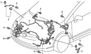 2009 civic engine wire harnesscircuit schematic circuit wiring