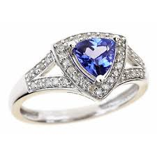 bjs engagement rings 60 carat trillion cut tanzanite and 20 ct t w