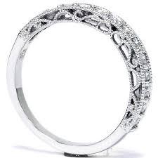 vintage filigree wedding bands 50ct vintage antique filigree wedding ring band milgrain