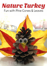 autumn leaf pine cone turkey ted s