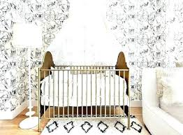 White Nursery Decor Black And White Nursery Decor Cafedream Info