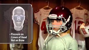 heads up football proper helmet fitting usa football youtube