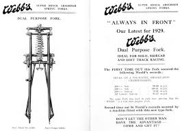 the velobanjogent webb girder forks a general look at some