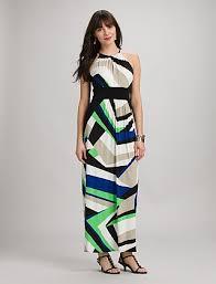 geometric colorblock maxi dress dressbarn definitely not those