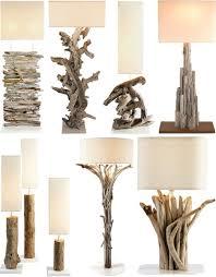 Driftwood Decor Driftwood Table Lamp Stands Http Dornob Com Driftwood Decor 24