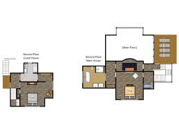 guest house floor plans harbert home u0026 guest house just steps from vrbo