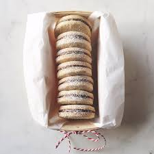 hazelnut chocolate shortbread christmas cookies frella