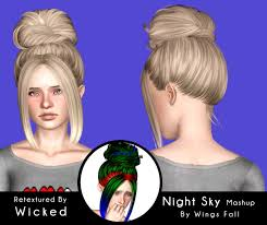 bob with headband and bangs haircut id 691 by peggy zone sims 3