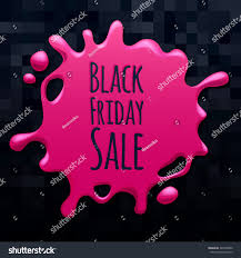 black friday pink sale abstract black friday sale pink splash stock vector 340358582