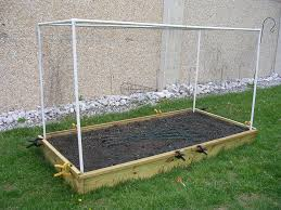 raised planting bed u0026 pvc structure hexhound