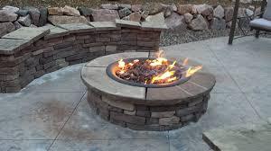 Diy Propane Firepit Gas Pit Kits Diy Propane Kit Home Depot Drop In Lowes Build