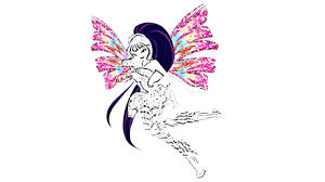 Winx Club Musa Coloring Pages How To Draw Musa Video For Kids Winx Club Musa Coloring Pages