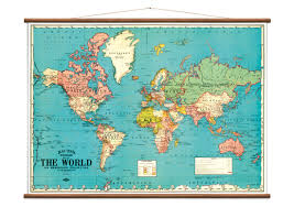 vintage world map u2013 crowdyhouse