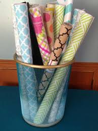 ways to store wrapping paper tips for storing your crafts when you re limited on space diy