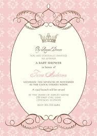 princess baby shower invitation templates free zdornac info