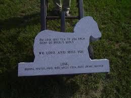 headstones for babies stillborn still loved ordering jacob s headstone