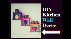 diy kitchen wall decor hanging easy popstick craft home decor