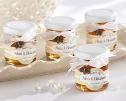 meant to bee personalized clover honey wedding favors