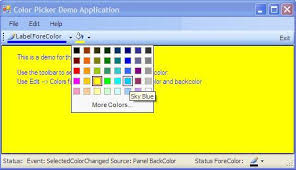 office 2003 color picker codeproject