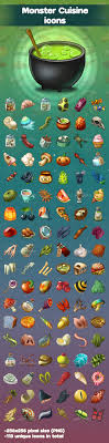 monter cuisine cuisine icons by avgusta lina graphicriver
