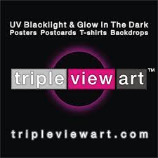 uv blacklight u0026 glow in the dark psychedelic art by tripleviewart