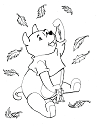 childrens coloring pages fall leaves book pictures free