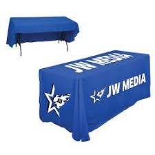 customized trade show table covers