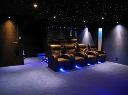 Piece Home Cinema Black Box Construction Salle Hc En Ss Sol