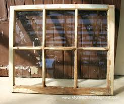 How To Make A Window by My Gra 8 Life How To Make An Old Window Into A Picture Frame