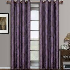 savanna pair set of 2 jacquard grommet window curtain panels