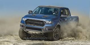 road ford ranger here s the best guess yet at what the ford ranger raptor will look