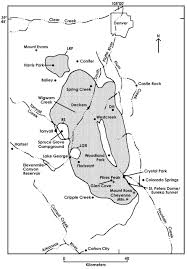 Bailey Colorado Map by Mineralogy And Provenance Of Clays In Miarolitic Cavities Of The