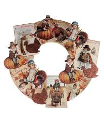 bethany lowe thanksgiving dummy board die cut wreath