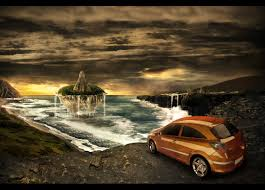 car advertisement how to create a fantasy atmosphere style car ad