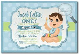 baby boy 1st birthday invitation card ba boy first birthday