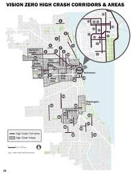 Chicago Bad Neighborhoods Map by At Long Last The City Releases The Chicago Vision Zero Action